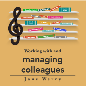 Working with and managing colleagues